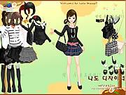 Black Fashion Dress Up