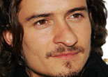 orlando bloom visage amusant